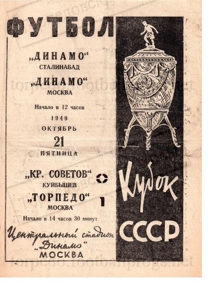 """""""Торпедо"""" Москва кубки СССР и России. Часть 1"""